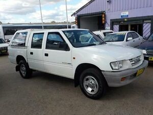 2001 Holden Rodeo TF MY01 LX Crew Cab White 4 Speed Automatic Utility North St Marys Penrith Area Preview
