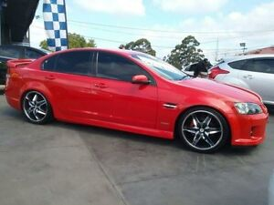 2010 Holden Commodore VE MY10 SV6 Red 6 Speed Automatic Sedan Greenacre Bankstown Area Preview