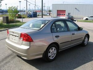 2004 HONDA CIVIC, AUTOMATIC, 118K ONLY / CERTIFIED