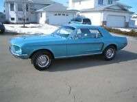 1968 Mustang Gt Re-creation