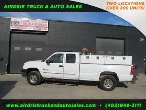 2005 Chevrolet 2500HD 4x4 Diesel Air Compressor Tommy Tailgate