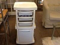 White Beauty salon trolley (collect from Stirling)