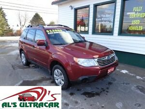 2010 Subaru Forester X Sport for only $142 bi-weekly all in!