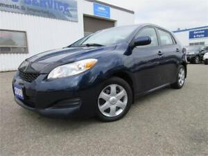 2009 Toyota Matrix XR MANUAL-4 CYL,2.4 LTR,1 OWNER,WARANTY,$6895