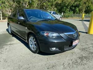 2006 Mazda 3 BK MY06 Upgrade Maxx Sport Black 4 Speed Auto Activematic Hatchback Morayfield Caboolture Area Preview