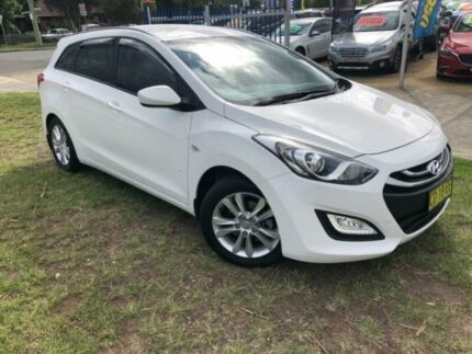 2015 Hyundai i30 GD Tourer Active 1.6 GDi White 6 Speed Automatic Wagon Dapto Wollongong Area Preview