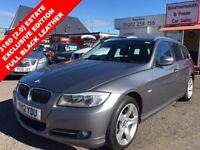BMW 3 SERIES 318D EXCLUSIVE EDITION TOURING £30 ANNUAL TA (grey) 2012