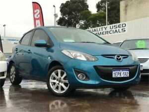2014 Mazda 2 DE MY14 Neo Sport Blue 4 Speed Automatic Hatchback East Victoria Park Victoria Park Area Preview