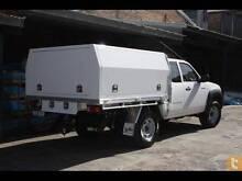 White Powder Coated Aluminium Ute Toolbox/ Canopy 8*6 Single Cab O'Connor Fremantle Area Preview