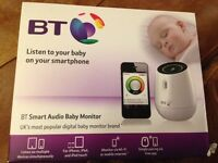 BT Smart Audio Baby Monitor - new and boxed!