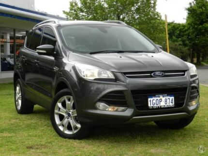 2014 Ford Kuga TF MY15 Trend AWD Grey 6 Speed Sports Automatic Wagon Victoria Park Victoria Park Area Preview