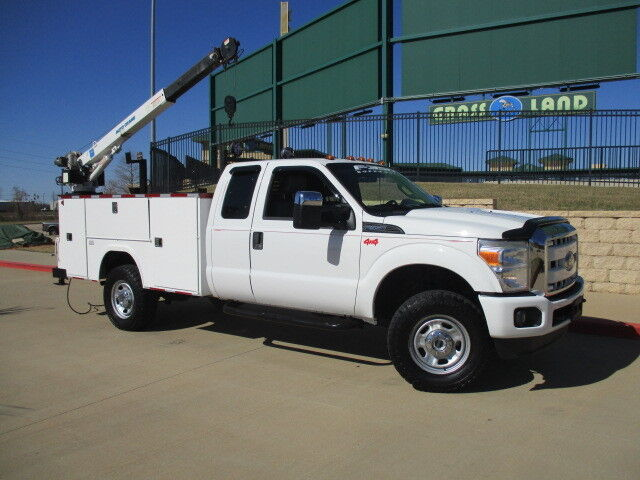 Texas Own 2011 F350 4x4 Utility Service Truck One Owner