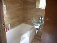 Wall and floor tiling and complete bathroom and kitchen installations.