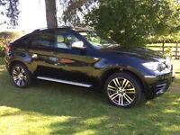 2013 63 BMW X6 3.0TD 50d M50D AUTO SAT NAV DIESEL 5 SEATER