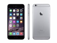 Unlocked Apple iPhone 6 16GB SPACE GREY very good condition