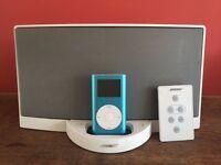 Bose Soundlink i and Apple iPod Mini 2nd Generation Blue