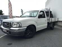 2002 Ford Courier PE GL White 5 Speed Manual Utility Underwood Logan Area Preview