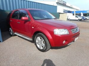 2007 Ford Territory SY Ghia AWD Red 6 Speed Sports Automatic Wagon Winnellie Darwin City Preview