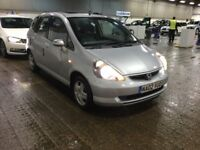 2002 HONDA JAZZ 1.4 I DSI SE 5 DOOR HATCHBACK PETROL MANUAL SILVER 5 SEAT CHEAP INSURANCE N CIVIC KA