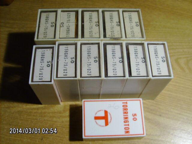 50 pc pack TORRINGTON 158GHS 75/029 blind stitch sewing machine needles