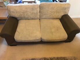 2 and 3 Seater Sofa - Needs some TLC - Free for collection