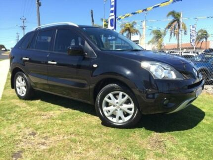 2009 Renault Koleos H45 Dynamique Black 6 Speed Manual Wagon Wangara Wanneroo Area Preview