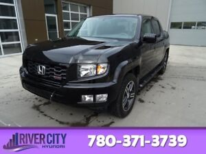 2014 Honda Ridgeline 4WD SPORT Accident Free,  Heated Seats,  Ba