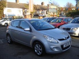 Hyundai I20 1.2 Comfort 5dr, 2011 model, Full MOT, FSH, 1 keeper