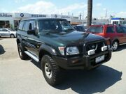 1999 Nissan Patrol GU ST Green 5 Speed Manual Wagon Heatherton Kingston Area Preview
