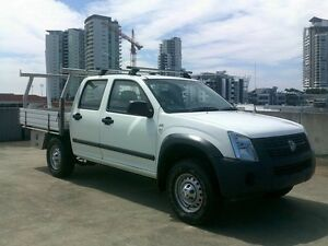 2007 Holden Rodeo RA MY07 LT Crew Cab White 5 Speed Manual Utility Southport Gold Coast City Preview