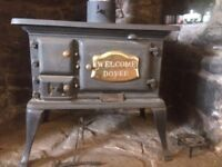 Welcome Dover wood/coal burning stove