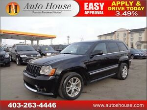 2008 JEEP GRAND CHEROKEE SRT8 LEATHER CAMERA  DVD