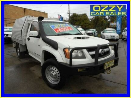 2009 Holden Colorado RC MY09 LX (4x4) White 5 Speed Manual Cab Chassis Emu Plains Penrith Area Preview