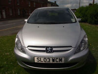 Peugeot 307 2.0HDi 2002 Rapier PX Swap Anything considered