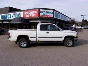 1999 Dodge Ram 1500 Laramie SLT 4x4 Quad Cab 154.7 in. WB