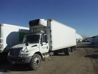 2012 International 4300 4x2, Used Reefer Van