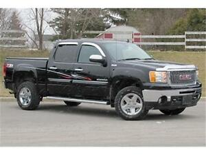 2013 GMC Sierra SLT Crew 4WD|Z71|Sunroof|Navi|Leather