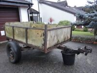 Trailer - A working trailer 6ft X 3ft 4inches (1.80m X 1.00m)