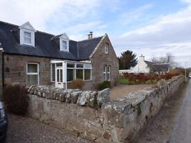 Piperhill, Nairn, stonebuilt 4-5 bedroom rural property,large garden,outbuildings,open views.