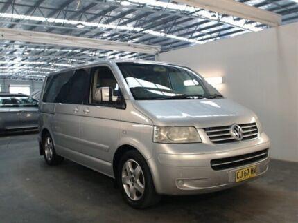 2005 Volkswagen Multivan T5 Highline Silver 6 Speed Tiptronic Van