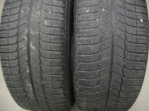 PAIR OF MICHELIN X ICE 235/55R17 $20 FOR BOTH