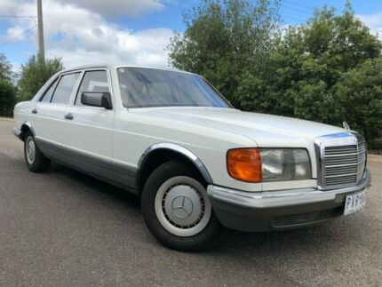 1985 Mercedes-Benz 280 W126 SE White 4 Speed Automatic Sedan Hoppers Crossing Wyndham Area Preview