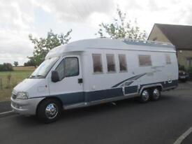 2005 HOBBY 700 FOUR/FIVE BERTH, REAR BED, REAR GARAGE MOTORHOME FOR SALE