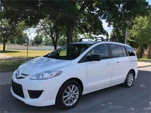 2010 MAZDA 5, MANUELLE, 6 PASSAGERS, 4 CYLINDRES, AIR CLIMATISÉ