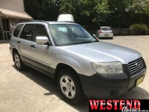 2005 Subaru Forester MY05 X Silver 4 Speed Automatic Wagon Lisarow Gosford Area Preview