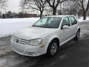 2009 VOLKSWAGEN GOLF CITY , AUTOMATIQUE , AIR CLIMATISE, 4 CYLIN