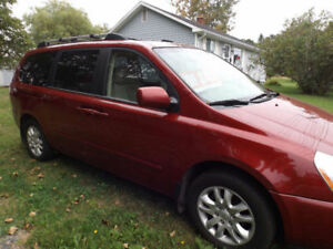 Low mileage NEW MVI Kia Sedona located in Amherst