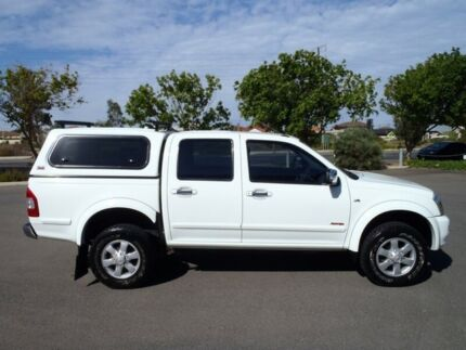 2007 Holden Rodeo RA MY07 LT (4x4) White 5 Speed Manual Crew Cab Pickup Albert Park Charles Sturt Area Preview