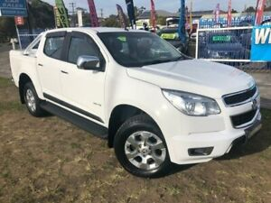 2014 Holden Colorado RG MY14 LTZ (4x2) White 6 Speed Automatic Crew Cab Pickup Dapto Wollongong Area Preview