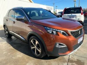 2017 Peugeot 3008 P84 GT Gold 6 Speed Automatic Wagon Mount Hawthorn Vincent Area Preview